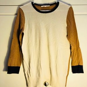 NWOT LOFT Color-blocking Sweater